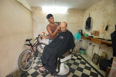 The best barber in Havana