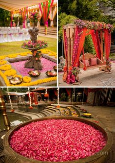 The Effective Pictures We Offer You About fall wedding ceremony decorations A quality picture can tell you many things. You can find the most beautiful pictures that can be presented to you about wedd Desi Wedding Decor, Home Wedding Decorations, Wedding Mandap, Backdrop Decorations, Wedding Stage, Wedding Ceremony Decorations, Tree Wedding, Wedding Venues, Backdrops