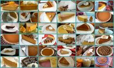 Over 30 different gluten free pumpkin pie recipes
