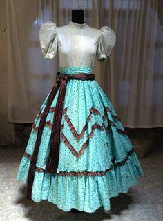 Vestido De Escaramuza Charra Diseñadora: Anel Granados Flores Posted by: Aide Granados Flores