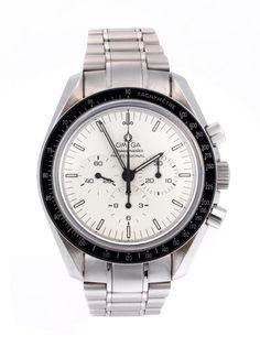 Limitierte OMEGA Speedmaster Nr. 123/500 von 2009 anläßlich des 40-jährigen Jubiläums der ersten Monduhr von 1969, verschraubtes Stahlgehäuse mit...