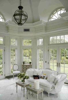 White on White Porch