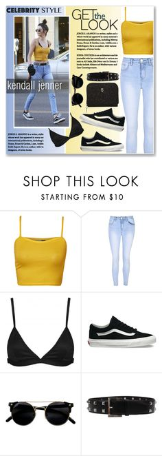 """""""kendall jenner on august"""" by nanawidia ❤ liked on Polyvore featuring WearAll, Glamorous, Lavish Alice, Vans, Oscar de la Renta, Dorothy Perkins, casualoutfit, CasualChic, kendalljenner and August"""