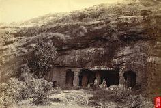 Façade of Ravana ka khai, Ellora, Aurangabad, औरंगाबाद, ghrushneswar, ellora caves, ajanta caves, old aurangabad, aurangabad city, aurangabad tourist attraction.