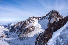 Пик Нурсултан (до 1935 — Малоалматинский, до 1998 — Комсомола) — горная вершина на северном склоне хребта Заилийский Алатау. Высота — 4330,9 метров над уровнем моря. Снято с пика Амангельды.