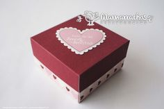 Cajas para Amor y Amistad. Ideales para dulces, chocolates, galletas o un detalle pequeño pero con amor.