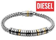 pánsky náramok, pánske náramky, pánsky náramok z chirurgickej ocele Diesel, Bracelets, Jewelry, Diesel Fuel, Jewlery, Jewerly, Schmuck, Jewels, Jewelery