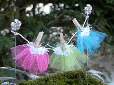 Fairy Garden Accessories Clothesline by TheLittleHedgerow on Etsy