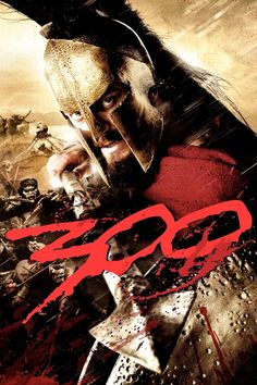 300 (2006-12-09 WB) poster 2 • dir/writer: Zack Snyder • writers: Kurt Johnstad + Michael Gordon • stars: Gerard Butler (as King Leonidas) +Lena Headey (Queen Gorgo +D West (Theron) +D Wenham (Dilios) +M Fassbender (Stelios) •tagline: Spartans, tonight, we dine in hell! •plot: King Leonidas w/ only 300 men fight Persians at Thermopylae in 480BC • budget $65M / gross ww $456M (by 2011-08) •Wiki: http://en.wikipedia.org/wiki/300_(film) •IMDB…
