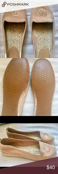 Michael Kors Espadrilles Suede Flats Extremely comfortable and in great condition, only worn twice! Women's size 8. Michael Kors Shoes Flats & Loafers