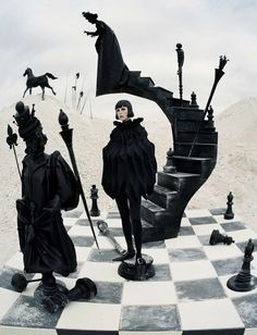 Photo Edie Campbell by Tim Walker for Vogue Italia December 2015