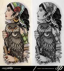 sam phillips owl tattoo - Google Search