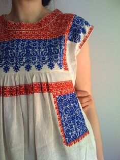 As you can see I have a lot of embroidered dresses like this pinned. I love…