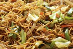 Yakisoba is one of the easiest festival foods to make outside of Japan. Try this recipe for a taste of Japanese matsuri, wherever you are in the world. Chicken Yakisoba, Vegetarian Recipes, Cooking Recipes, Healthy Recipes, Japanese Dinner, Japanese Meals, Japanese Food, Japanese Recipes, Recipes