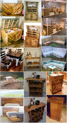 Creative DIY Ideas To Reuse Wooden Pallets