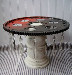 Girly Industrial cake stand