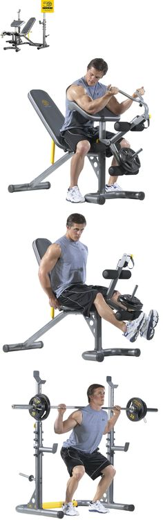 gym bench press chair pier 1 wicker 19 best weight set images adjustable workouts golds lifting exercise weights fitness workout new