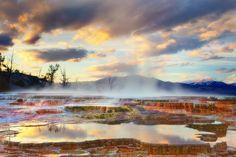 Yellowstone National Park-Mammoth Hot Springs | Flickr - Photo Sharing!