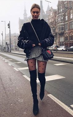 80 Cute Casual Winter Fashion Outfits For Teen Girl fashion # fash., Winter Outfits, 80 Cute Casual Winter Fashion Outfits For Teen Girl fashion # fash. Winter Outfits For Teen Girls, Winter Mode Outfits, Outfits For Teens, Fall Outfits, Cute Outfits, Casual Outfits, Night Outfits, Outfits 2016, Black Outfits