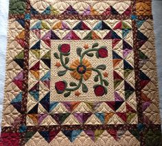 I custom quilted Hopscotch, a Kim Diehl pattern from her Whatnots Club. www.quilthollow.com
