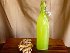 The Old Fashioned Way: Homemade Ginger Ale on The History Kitchen #vintage #recipe