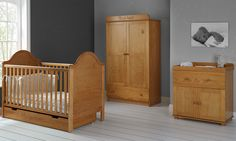 Obaby B is for Bear 3 Piece Double Room Set – Country Pine – RRP £789.99