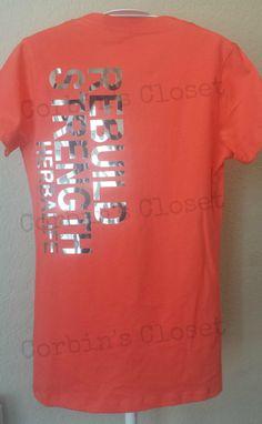 Herbalife Shirt  REBUILD STRENGTH HERBALIFE by CorbinsCloset