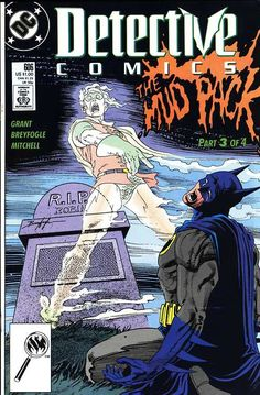 Detective Comics #606, October 1989, coverby Norm Breyfogle. I LOVED the Grant/Breyfogle years...