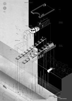 architecture system exploded axo blueprint에 대한 이미지 검색결과