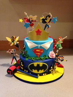 DC Superhero Girls Birthday Cake | DC Superhero Girls Birthday Party ...
