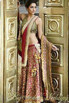 Gorgeous Wedding Lehenga by @VarijaBajaj Studio http://lotusse.biz/home.html E-4, Def Col, Ring Rd, Delhi