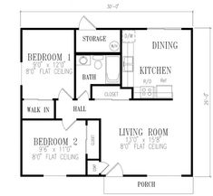 Simple Bedroom Blueprint 30x40 2 bedroom house plans | plans for east facing plot vastu