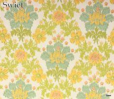 Bloemen barok behang | Swiet