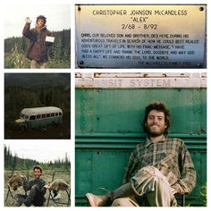 Happy Birthday Christopher McCandless on imgfave Alex Supertramp, Trekking, Christopher Mccandless, Wild Quotes, Camping, Quote Prints, Great Movies, Along The Way, Movie Quotes