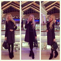 Alena Shishkova winter coat