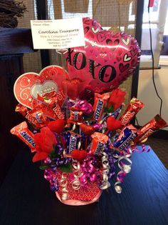 Large Candy Bouquet for Valentine's Day $25