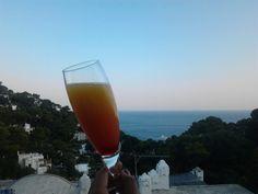 #Sunset Affair Drink , Hotel Mamela , Capri  #Italy Luxe  www.hotelmamela.com