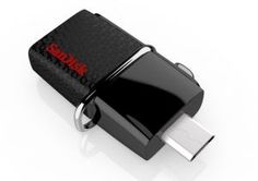 Sandisk Ultra Dual 64gb 3.0 On-the-go Pendrive (black)