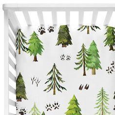 Woodland Trees  Woodland Trees and Footprints Crib Sheet
