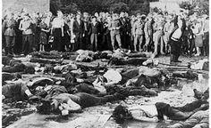Lithuanian massacre of jews. June 1941