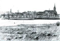 Nijmegen - 21-04-14 (2014), graphite on paper (A5)