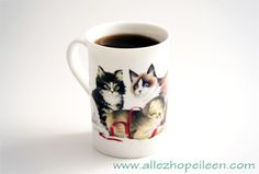 A cup of cat ?