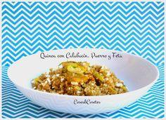 Hoy en el blog un plato diferente que os hara descubrir la Quinoa de una forma sana y sabrosa. Acordaos de compartir para no perder de vista este recetón.