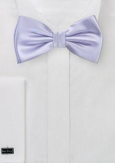 Herrenschleife strahlendes zartviolett Kunstfaser