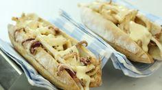 Bocata de Calamares Receta del bollo de pan y los calamares para el Bocadillo de Calamares fritos. Con Iban yarza y Robin  Food
