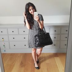 A special shoutout to Camille ! With the .Kate Lee ERYN style in black as she goes to work!   #katelee #bag #eryn