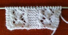Bonjour les tricopines, Je vous propose aujourd'hui un nouveau point : le point ajouré entrelacé. Le point ajouré entrelacé se tricote s...
