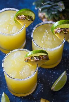 February 22 is National Margarita Day. Get ready with one of these famous margarita recipes! We've pulled together the best margarita recipes. Pinapple Margarita, Jalapeno Margarita, Pineapple Juice, Mojito, Lime Juice, Pineapple Cocktail, Vodka Lime, Frozen Margarita Recipes, Easy Margarita Recipe
