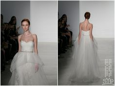 Christos Bridal  Fall 2014 Collection by Amsale