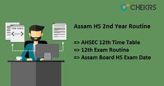 Assam HS 2nd Year Routine #Assam #HS #2nd #Year #Routine #chekrs #edtech #edchat #learning #education #ukedchat